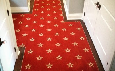 Seeing Stars: Carpet Installation Phase 2
